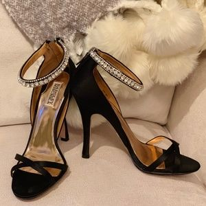 Badgley Mischka Decadence Ankle Strap Shoes